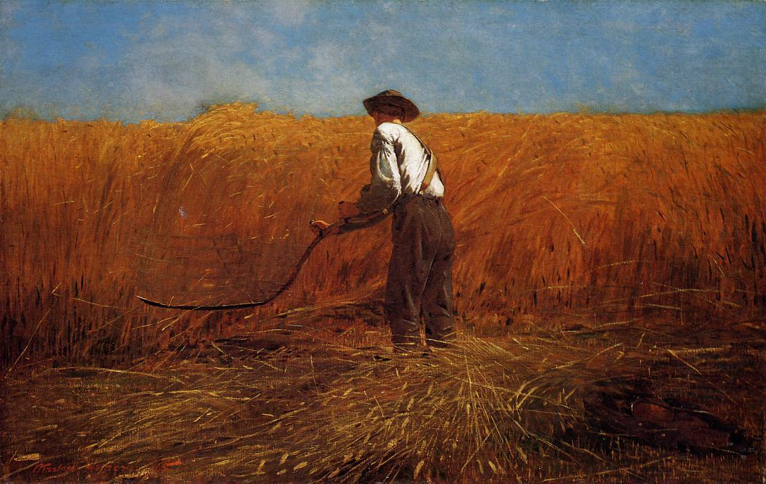 famous painting The Veteran in a New Field of Winslow Homer