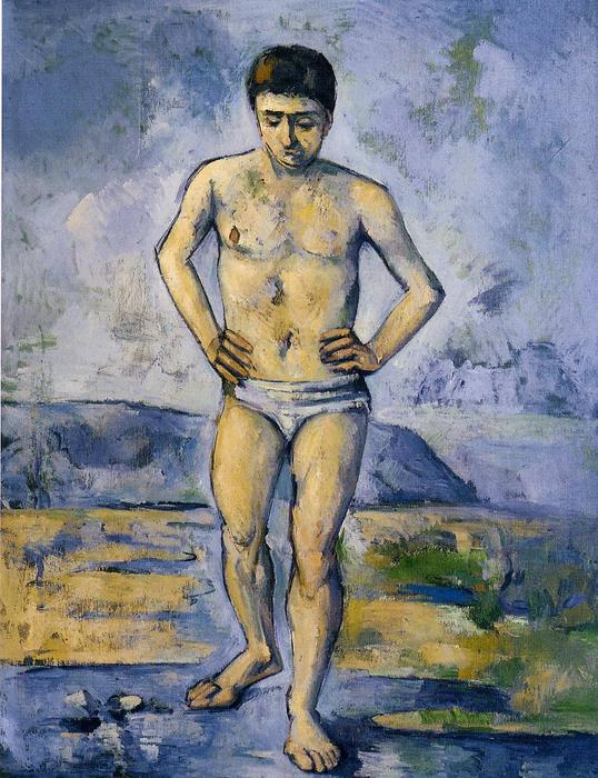 famous painting The Large Bather of Paul Cezanne