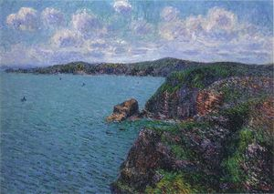 Gustave Loiseau - Cliffs at Cap Frehel