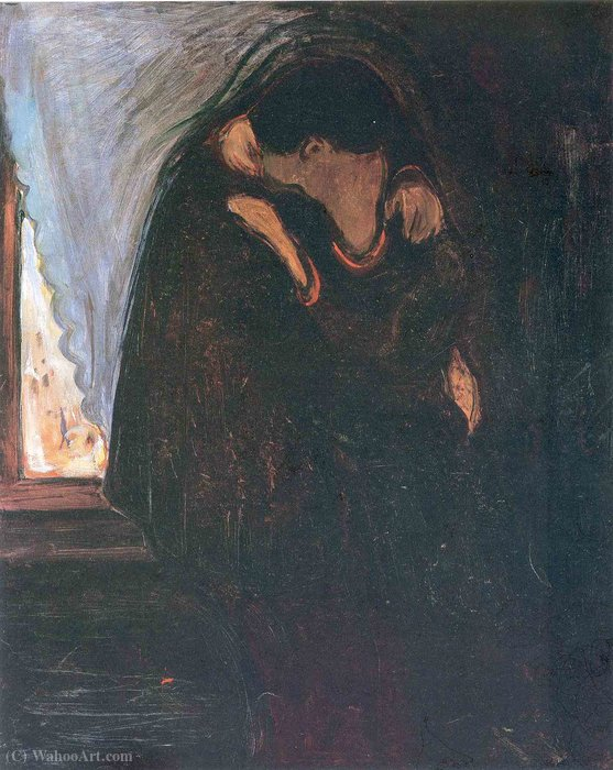 famous painting Kiss of Edvard Munch