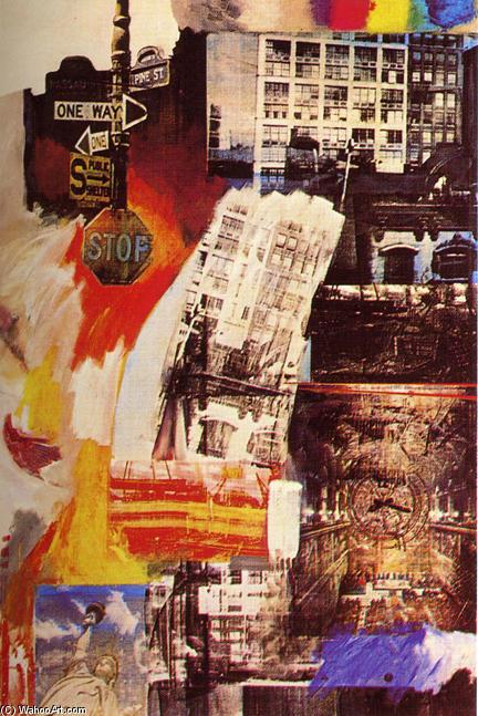 Robert Rauschenberg Black Paintings