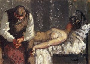 Walter Richard Sickert - The Camden Town Murder, or What Shall We Do For the Rent?