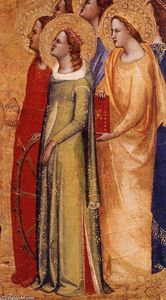 Master Of San Lucchese - Coronation of the Virgin (detail)