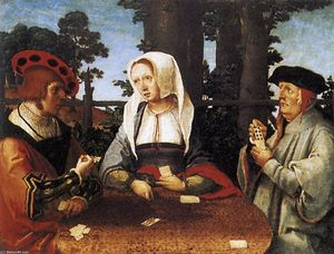Lucas Van Leyden - Card Players