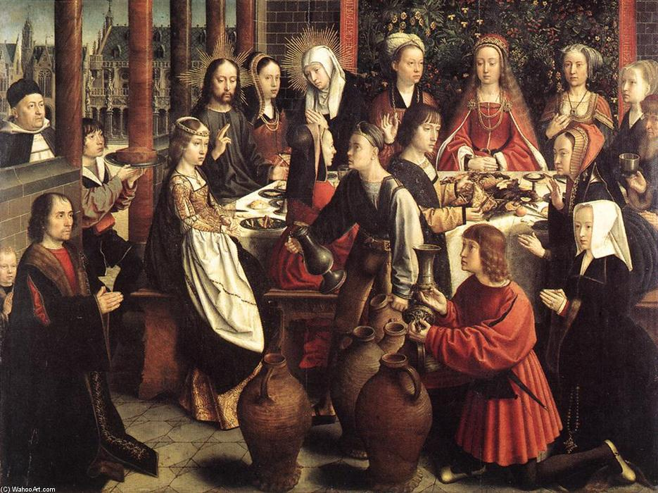 famous painting The Marriage at Cana of Gerard David
