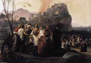 Francesco Hayez - The Refugees of Parga