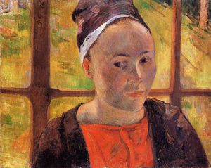 Paul Gauguin - Portrait of a Woman (Marie Lagadu?)