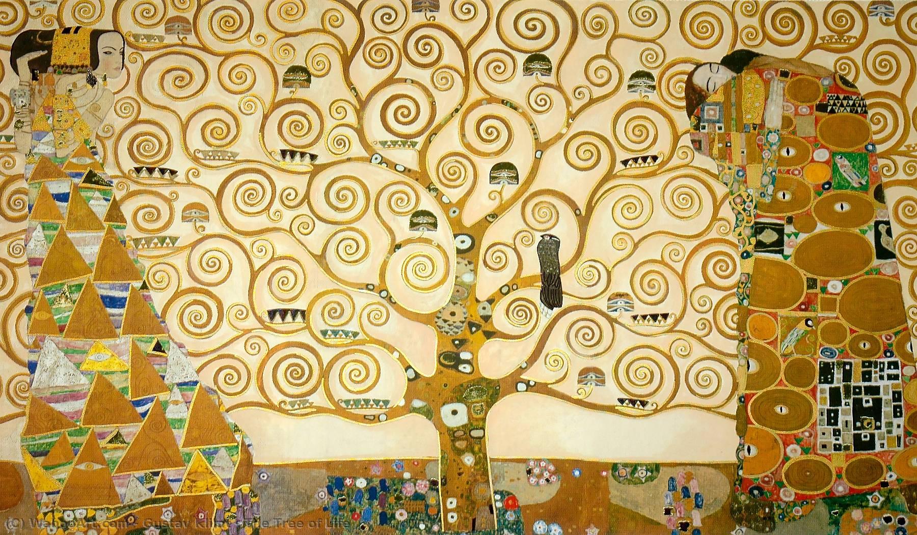 Klimt L Arbre De Vie Tableau le arbre de la vie de gustav klimt | reproductions de