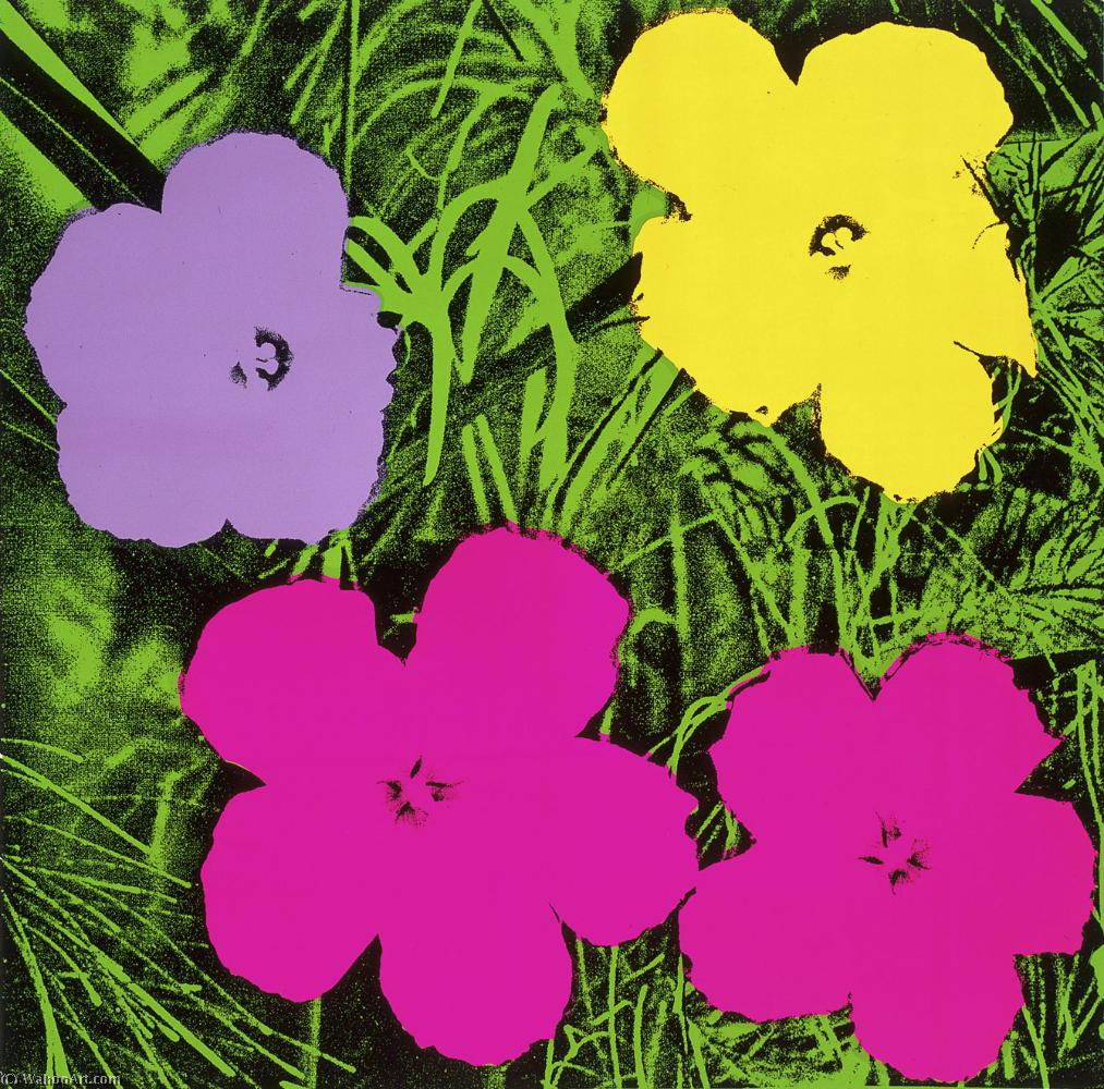 Fiori Warhol.Flowers By Andy Warhol Most Famous Paintings Com
