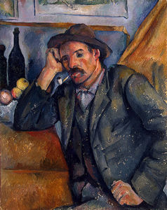 Paul Cezanne - The smoker, eremitaget