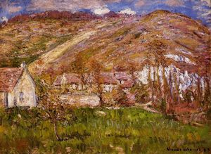 Claude Monet - The Hamlet of Falaise, near Giverny