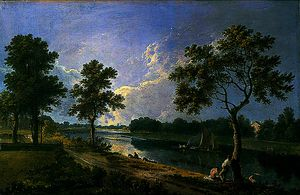 Richard Wilson - The Thames at Twickenham, Greater London