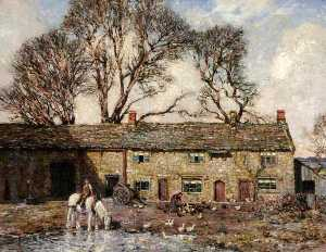 Stanley Royle - The Farmyard
