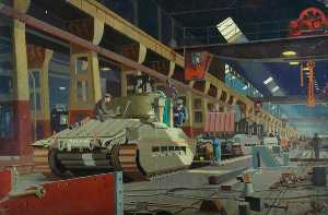Norman Wilkinson - Building Matilda Tanks at Horwich (The LMS at War Series)