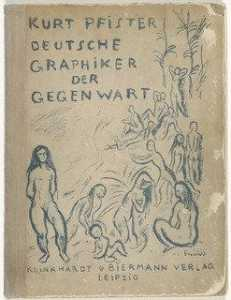 Richard Seewald - Front cover from the illustrated book Deutsche Graphiker der Gegenwart (German Printmakers of Our Time)